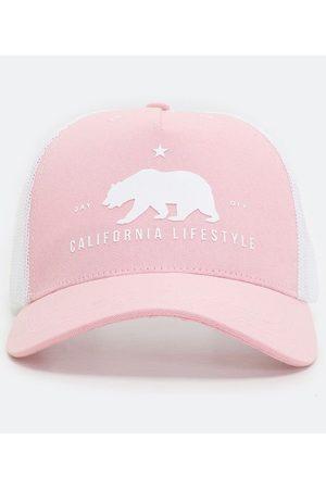 Viko Homem Chapéus - Boné em Algodão Estampa Urso Califórnia | | | U