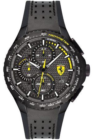Vivara Homem Relógios - Relógio Scuderia Ferrari Masculino Borracha Preta e Cinza - 830766