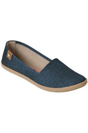 MOLECA Sapatilha Jeans com Palmilha Confort
