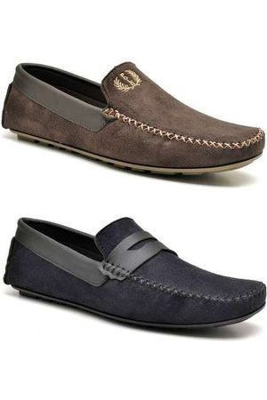 Polo State Homem Sapatos - Kit 2 Sapatos Masculinos Driver Trip Ma