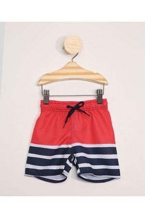 BABY CLUB Short Infantil com Listras