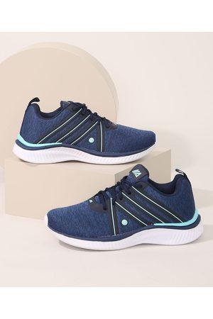 ACE Mulher Sapatos Esporte - Tênis Feminino Esportivo com Recortes