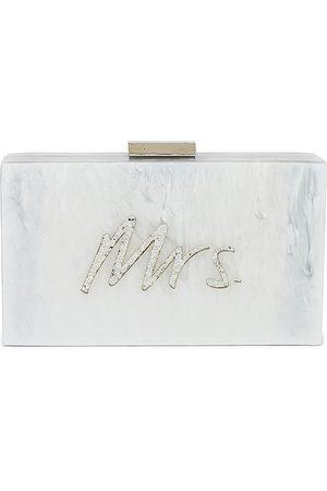 Olga Berg Mrs. Glitter Acrylic Pod in Metallic .