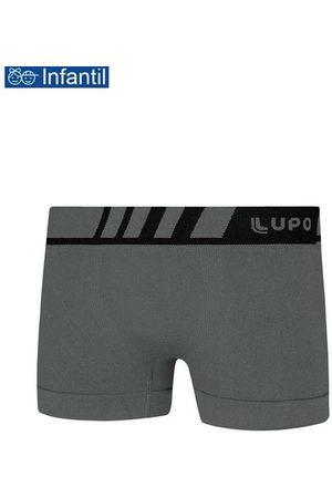 LUPO Cueca Lupinho Boxer 136-001 Infantil 8710-Chumbo