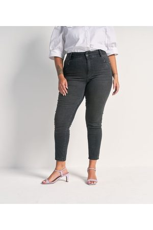 Ashua Curve e Plus Size Calça Skinny Push Up Jeans Curve & Plus Size | | | 54