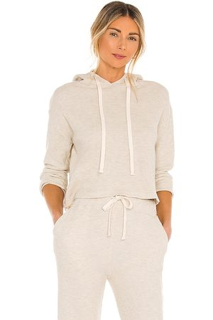 MONROW Brushed Thermal Pull Over in Nude. - size L (also in M, S, XS)