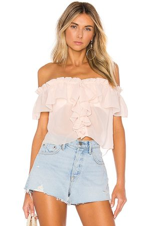 House of Harlow X REVOLVE Garrett Top in Pink. - size L (also in M, S, XL, XS)