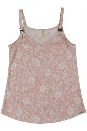 Cativa Mulher Blusa - Blusa com Alça e Decote V Vermelho
