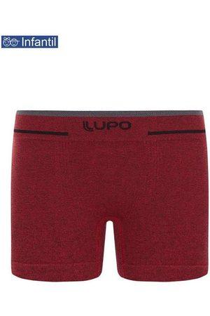 LUPO Menino Cueca Boxer - Cueca Lupinho Boxer 0137-010 Infantil 5650-Vermelh