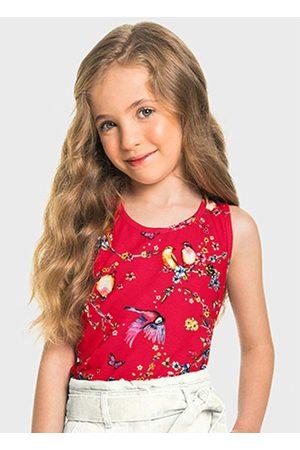 Marisol Blusa Regata Vermelha Menina