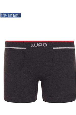 LUPO Menino Cueca Boxer - Cueca Lupinho Boxer 0137-010 Infantil 8870-Grafite
