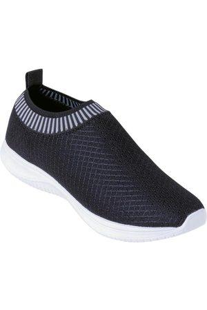 Perfecta Mulher Sapatos Esporte - Tênis em Tecido com Elástico
