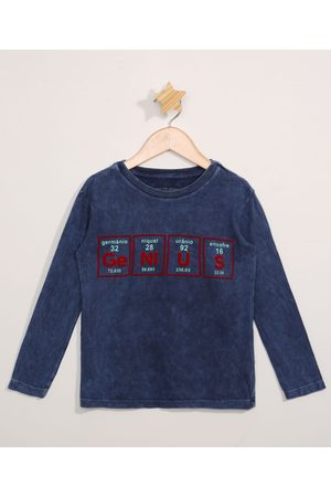 "PALOMINO Camiseta Infantil Tie Dye Estampada Manga Longa Genius"" """