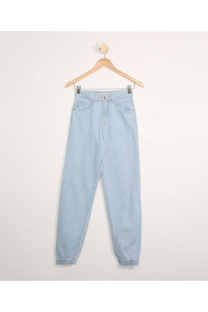 Fifteen Calça Jeans Juvenil Jogger Claro