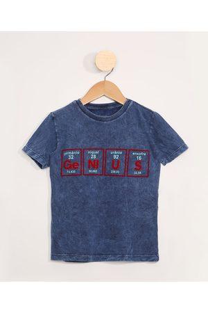 "PALOMINO Camiseta Infantil Tie Dye Estampada Manga Curta Genius"" """