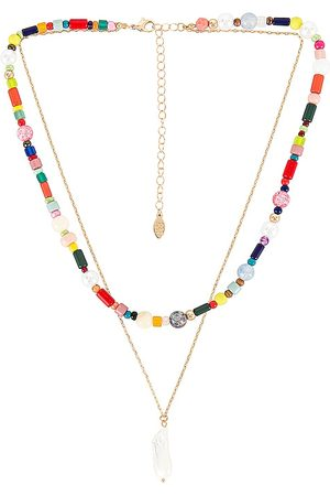 8 Other Reasons Colares - Bridie Necklace in Metallic .
