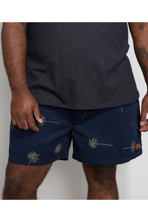 Suncoast Homem Short - Short Masculino Plus Size Estampado Coqueiros