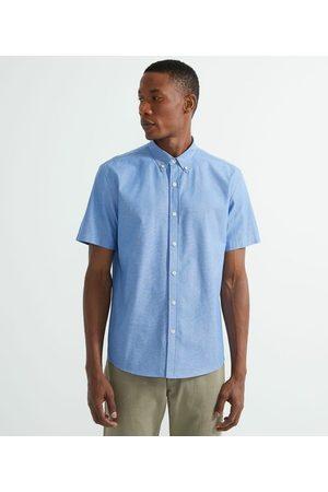 Preston Field Homem Camisa Manga Curta - Camisa Manga Curta Comfort em Oxford | | | 02