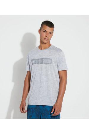 Get Over Homem Manga Curta - Camiseta Esportiva com Estampa e Proteção UV       GG