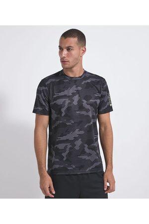 Get Over Camiseta Manga Curta Esportiva com Estampa Camuflada | | | GG