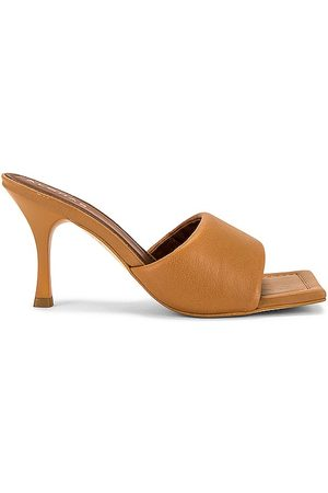 ALOHAS Puffy Mule in Brown. - size 35 (also in 36, 37, 38, 39, 40)