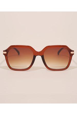 YESSICA Mulher Óculos de Sol - Óculos de Sol Feminino Quadrado