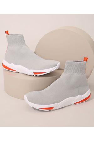 ACE Homem Sapatos Esporte - Tênis Masculino Esportivo Knit Cano Alto