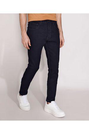 Clockhouse Calça Jeans Masculina Skinny Escuro