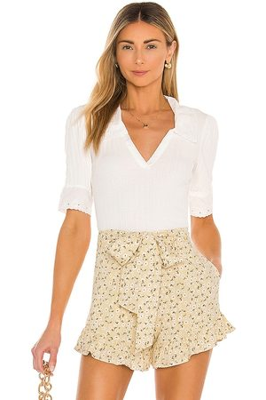 Free People Roxy Top in Ivory. - size L (also in M, S)