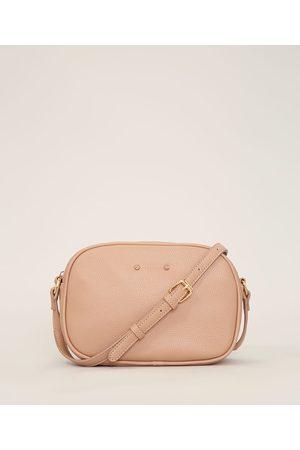 C&A Bolsa Feminina Transversal Pequena Rosê