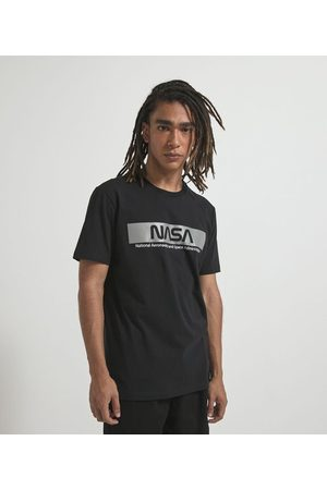Nasa Camiseta Manga Curta com Estampa | | | M