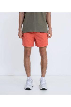 Blue Steel Homem Short - Short em Sarja com Cós Elástico | | | P