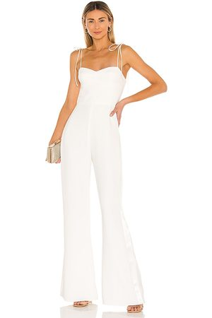 Amanda Uprichard Champagne Jumpsuit in . - size L (also in XS)