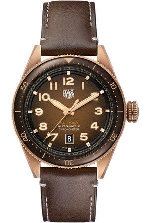 Vivara Homem Relógios - Relógio TAG Heuer Masculino Couro Marrom - WBE5191.FC8276