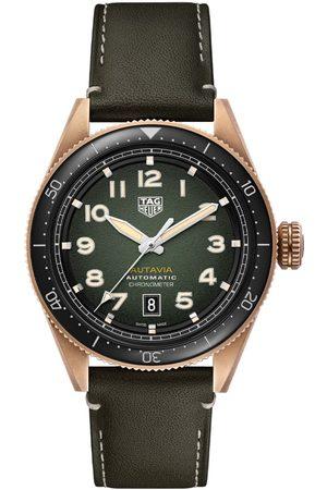 Vivara Homem Relógios - Relógio TAG Heuer Masculino Couro Preto - WBE5190.FC8268