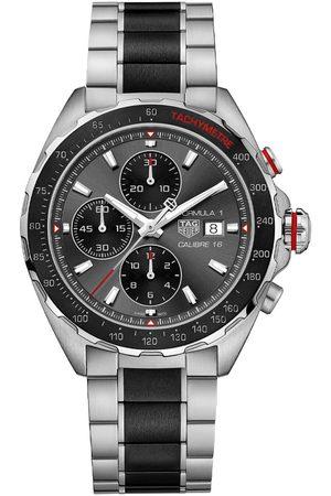 Vivara Homem Relógios - Relógio TAG Heuer Masculino Aço Prateado e Preto - CAZ2012.BA0970