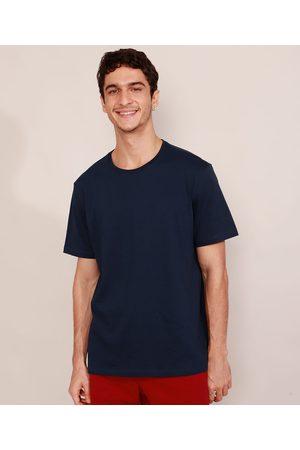 Basics Homem Manga Curta - Camiseta Masculina Manga Curta Básica Gola Careca