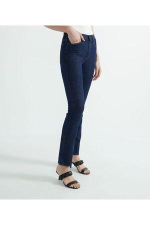 Blue Steel Calça Jeans Reta - Calça Jeans Reta Lisa | | | 46