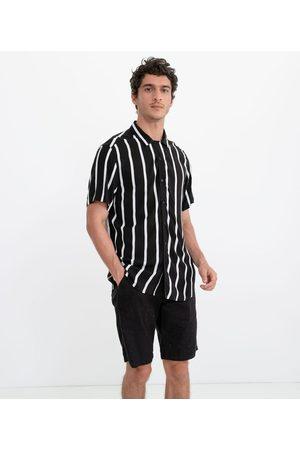 Request Homem Camisa Formal - Camisa Listrada com Botões       P