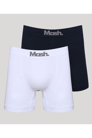 Mash Kit de 2 Cuecas Masculinas Boxer Multicor