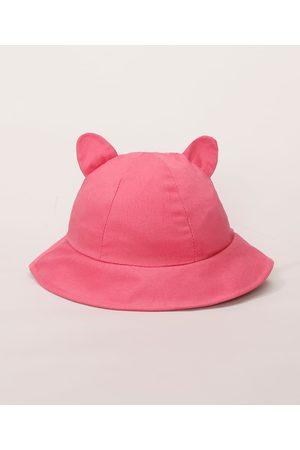 BABY CLUB Menina Chapéus - Bucket Hat Infantil com Orelhinha