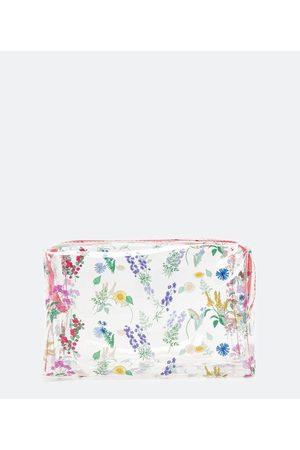 Cubus Nécessaire Tijolo Estampa de Florzinhas | | Multicores | U