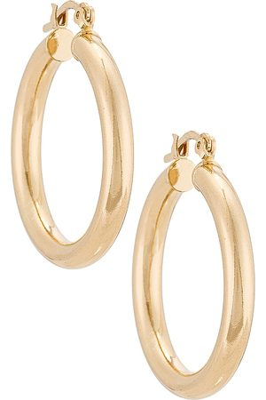 The M Jewelers The Large Ravello Hoops in Metallic .