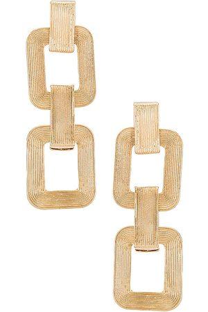 8 Other Reasons Mulher Brincos - Ell Earrings in Metallic .