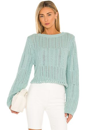 JONATHAN SIMKHAI Amberly Pullover in Teal. - size L (also in M, XS)