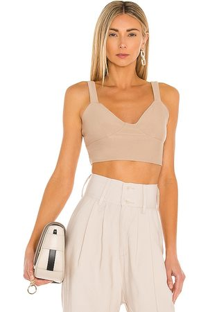 Katie May Babelet Top in Tan. - size L (also in M, S, XL, XS)