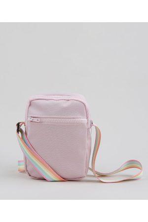 C&A Bolsa Shoulder Bag Unissex Transversal Pequena Pride com Bolso