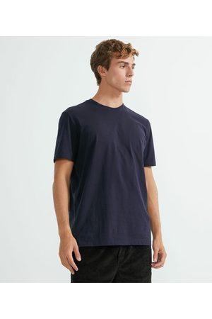 Marfinno Homem Manga Curta - Camiseta Comfort em Algodão Peruano Lisa | | | M