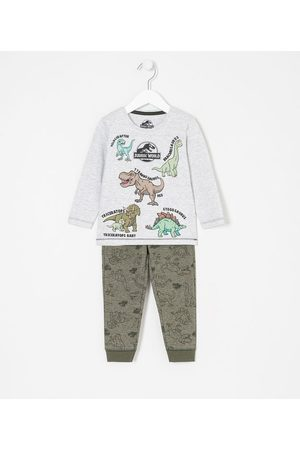 Jurassic World Bebê Conjuntos - Conjunto Infantil Jurassic Baby - Tam 1 a 5 anos | | Multicores | 02