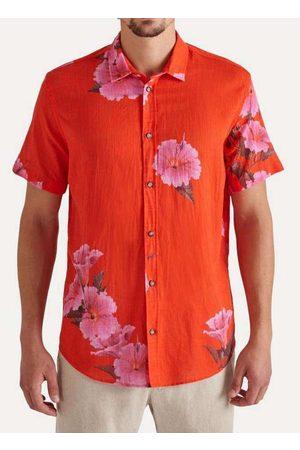 Reserva Homem Camisa Casual - Camisa Mc Estampada Verao